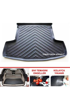 Mazda 3 Hb Hb 5 Kapı 2009 2012 3D Bagaj Havuzu