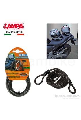 Lampa No-Ride Junior Çelik Güvenlik Halatı 6 mmx80 cm 90612