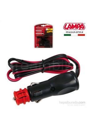 Lampa Spinotto Standart/Alman DIN Kablolu Çakmak Fişi 98130