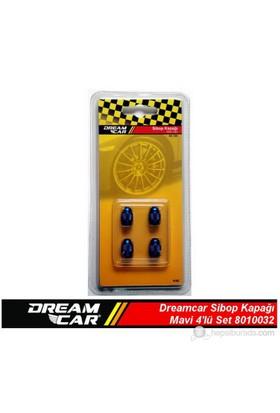 Dreamcar Aluminyum Sibop Kapağı 4'lü Set Mavi 8010032
