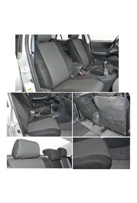 Z tech Volkswagen Polo 2005-2009 arası Siyah renk Araca özel Oto Koltuk Kılıfı