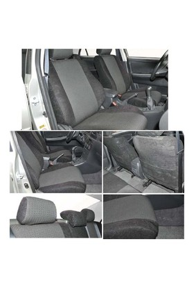 Z tech Volkswagen Bora Siyah renk Araca özel Oto Koltuk Kılıfı