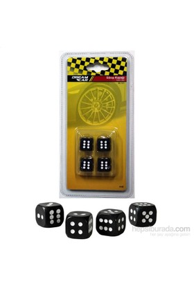 Dreamcar Siyah Zar Sibop Kapağı 4'lü Set 8010102