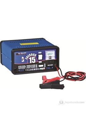 AWELCO ENERBOX 15 Kuru Aküler İçin Akü Şarj Cihazı (40/120 Ah)