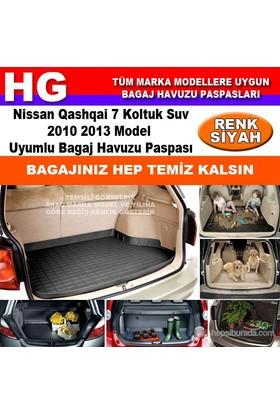 Nissan Qashqai 7 Koltuk 2010 2013 Siyah Bagaj Havuzu Paspası 38946