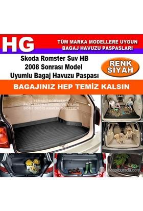 Skoda Romster 2008 Sonrası Siyah Bagaj Havuzu Paspası 39099