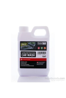 Valet Pro Concentrated Car Wash - Konsantre Ph Nötr Yıkama Şampuanı 1 L