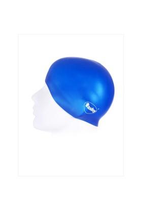 Ayyıldız 3042 Mavi Düz Renk Havuz Bonesi