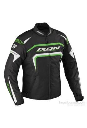 Ixon Eager 1028 Noir/Blanc/Vert 4 Mevsim Erkek Mont - 2Xl