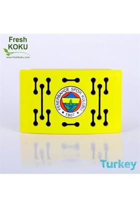 Fresh Koku Fenerbahçe 43041S Fresh Oto Kokusu Sarı, Fruity Melody