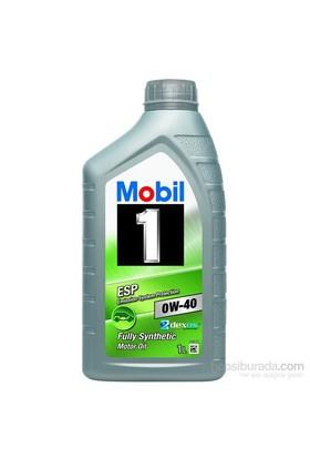 Mobil 1 ESP 0W-40 1lt DPF Uygun Benzinli Dizel Motor Yağı(Üretim Yılı:2017)