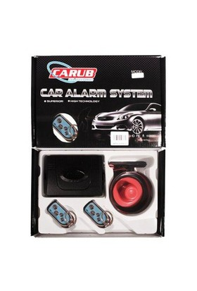 Carub Alarm Ultra BR0010868 Krom Oval Carub 10868