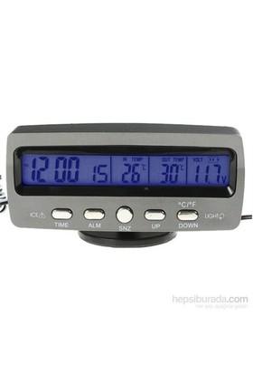 ModaCar Saat Tarih Termometre Voltaj Göstergesi 424184