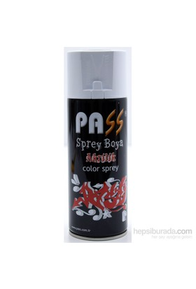 PASS 400 ml Sprey Boya 132 Bayrak Kırmızı 103837