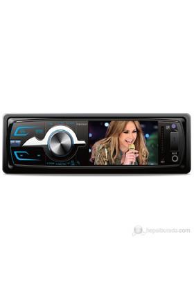 Piranha Charger Y Type Radyolu USB/ SD / MMC Kart Girişli Oto MP3 Çalar