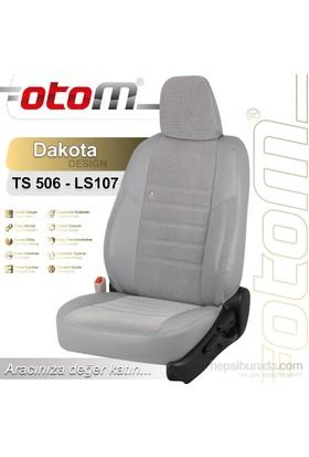 Otom Honda Cıty 2009-Sonrası Dakota Design Araca Özel Deri Koltuk Kılıfı Kırmızı-107