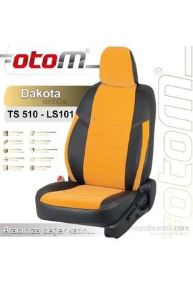 Otom Fıat 500 L 2013-Sonrası Dakota Design Araca Özel Deri Koltuk Kılıfı Mavi-110