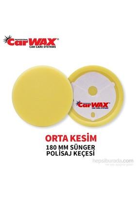 Carwax Sünger Ped Sarı 180 Mm