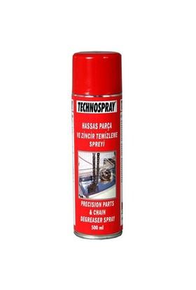 Technospray Hassas Parça ve Zincir Temizleme Spreyi 500 ml 11324