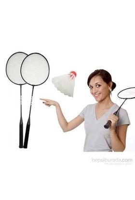 Carda Badminton Seti (2 Raket + 3 Top)