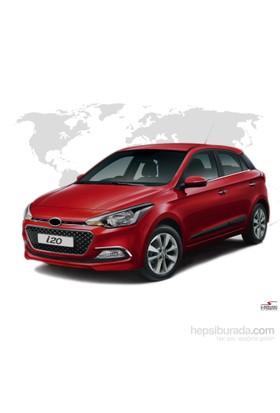 S-Dizayn Hyundai i20 Krom Ön Panjur 2 Prç 2014 ve Üzeri