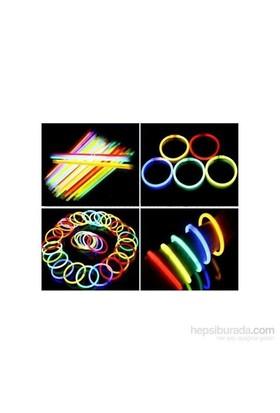 Hot Glow Anlık Bileklik Fosforlu Emniyet Işığı