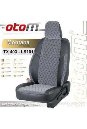 Otom V.W. Jetta Sport 2011-Sonrası Montana Design Araca Özel Deri Koltuk Kılıfı Füme-103