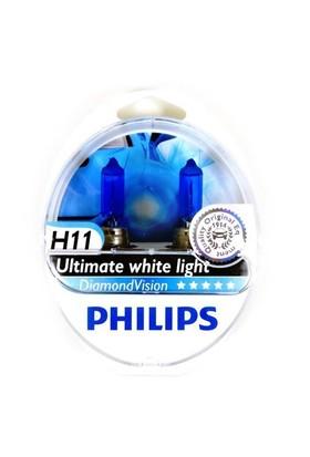 Philips H11 Diamond Vision Ultra Beyaz Işık 5000K