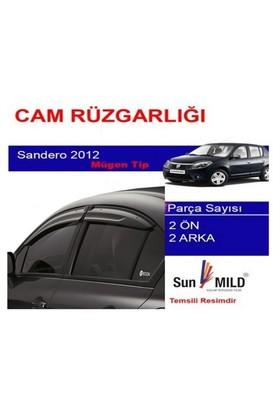 4 Lü Dacia Sandero 2012 Ve Sonrası Mügen Tipi Sport Stlye Sun Mıld 1320212