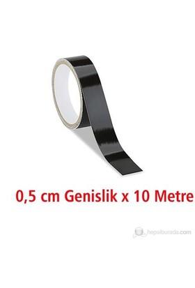 ModaCar 0.5 Cm Genişlik SİYAH Fosfor 10 Metre