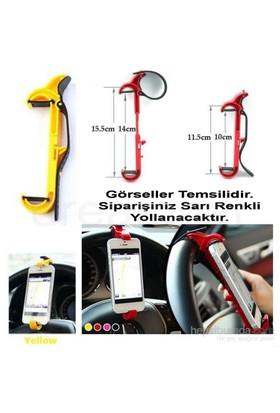 Dreamcar Sarı Direksiyon İçi Telefon Tutucu 0132003