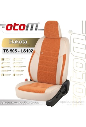 Otom Seat Exeo 2009-2011 Dakota Design Araca Özel Deri Koltuk Kılıfı Bej-105