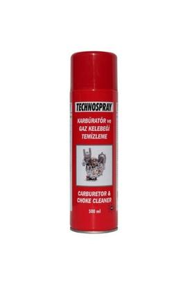 Technospray Karbüratör ve Gaz Kelebeği Temizleme Spreyi 500 ml
