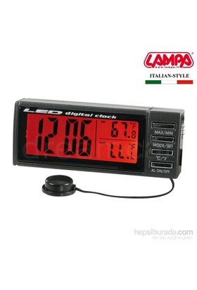 Dreamcar Seyio K-7 Lcd Saat+İç Dış Termometre+Alarm