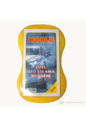 World Oval Oto Süngeri Büyük boy (sarı) 20071