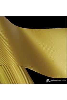 AutoFolyo Altın Karbon Folyo 127X100 Cm