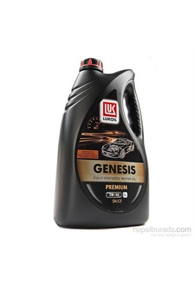 Lukoil Genesis Premium - 5w/40 - 1 LT Benzinli Dizel Motor Yağı