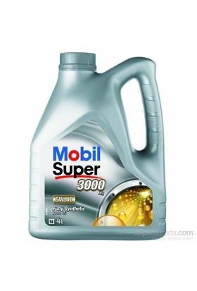 Mobil Süper 3000 X1 5W-40 4lt Benzinli Dizel LPG Motor Yağı ( Üretim Yılı : 2017)