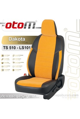 Otom Toyota Aurıs 2013-Sonrası Dakota Design Araca Özel Deri Koltuk Kılıfı Mavi-110