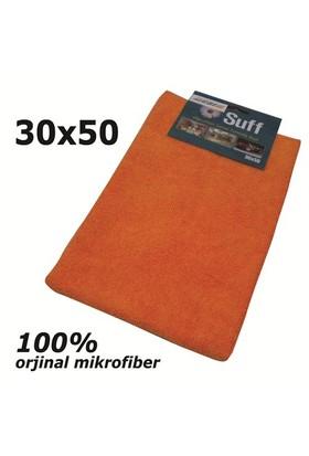 AutoCsi Suff 30 X 50 cm- TURUNCU-Microfiber Genel Temizlik Bezi 20136