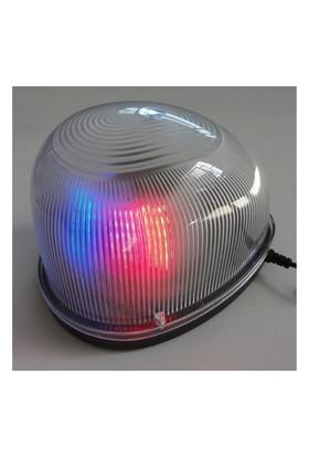 Dreamcar Döner Lamba Kırmızı-Mavi Flash Işıklı Mıknatıslı 12 V 3527002