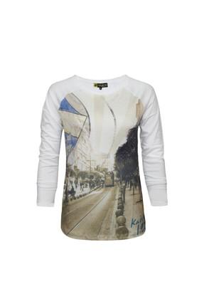 Fenerium Bayan Tribün Kadıköy Baskılı T-Shirt