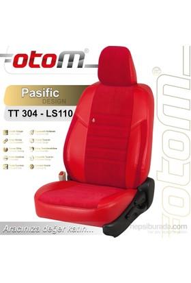 Otom Honda Cıty 2009-Sonrası Pasific Design Araca Özel Deri Koltuk Kılıfı Kırmızı-109