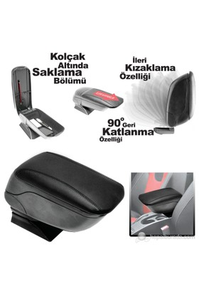Opel Astra H Kolçak Kızaklı Plastik Ayaklı