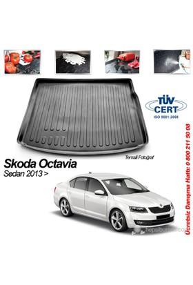 Automix Skoda Octavia Sedan Bagaj Havuzu Paspası 2013->Sonrası
