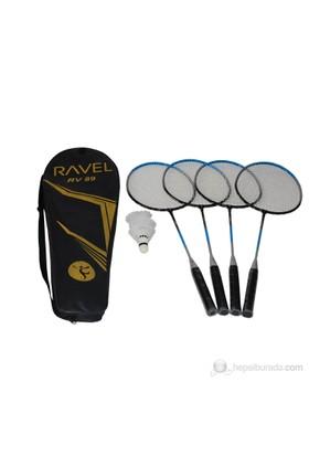 Ravel RV 89 Çantalı 4 Kişilik Badminton Seti