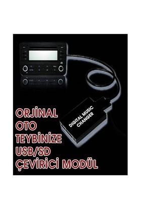Alfa Romeo 159 Digital Music Orijinal Müzik Çaları ( USB & SD )li çalara çevirici modül