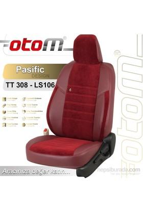 Otom Peugeot Expert 7+1 (8 Kişi) 2008-2011 Pasific Design Araca Özel Deri Koltuk Kılıfı Bordo-103