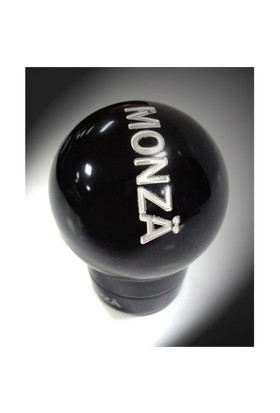 Monza 8123 Piano Black Aluminyum Vites Topuzu