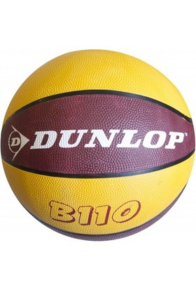 Dunlop B110 Sarı-Kırmızı Basketbol Topu - No : 7